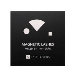Magnetic Lashes, Mixed 5-11 Light, 1 case