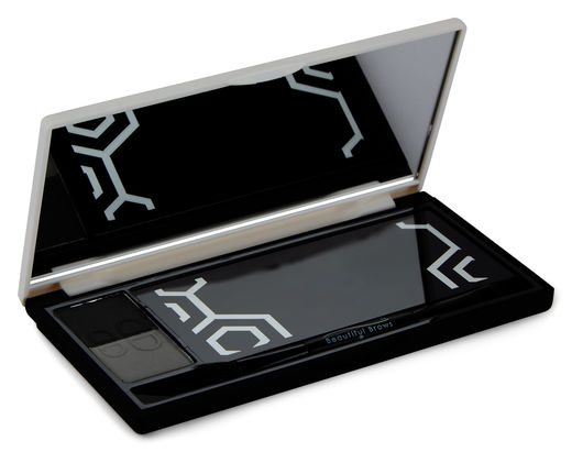 Beautiful Brows Nano Duo Kit, Slate/Black, 1 pce