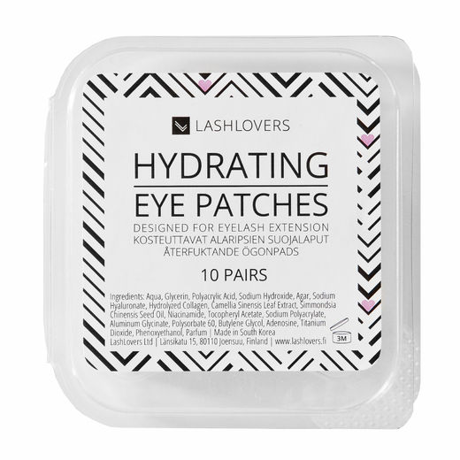 Hydrating eye patches, 10 pairs