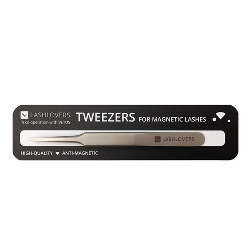 Application tweezers for magnetic lashes, 1 pce