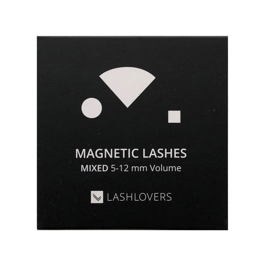 Magnetic Lashes, MIXED 5-12 mm Volume, 1 case