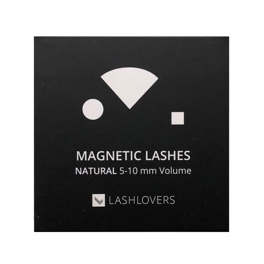 Magnetic Lashes , Natural 5-10 Volume, 1 case
