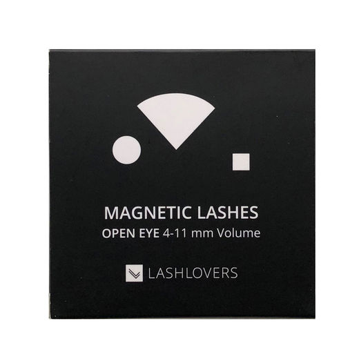 Magnetic Lashes, Open Eye 4-11 Volume, 1 case