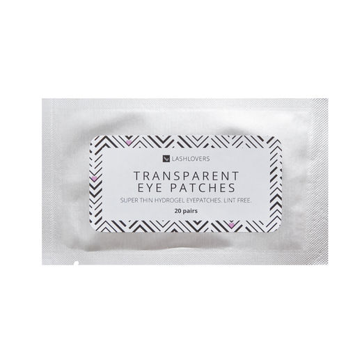 Transparent eye patches, 20 pairs